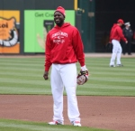 Brandon Phillips is all smiles on Opening Day