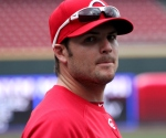 Chris Heisey and I had a staring contest today during batting practice.  Here's Chris at the 43-minute mark