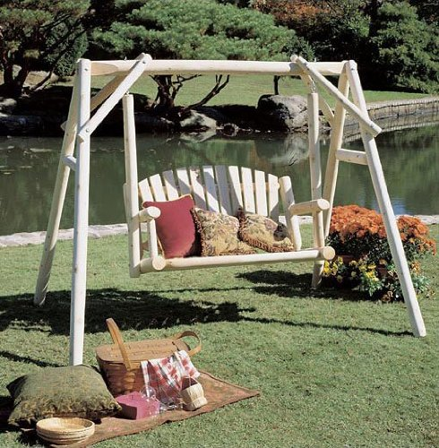 Cedar log swing plans free download wood storage sheds for Log swing plans