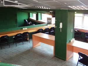 Press Box Field Level Inside