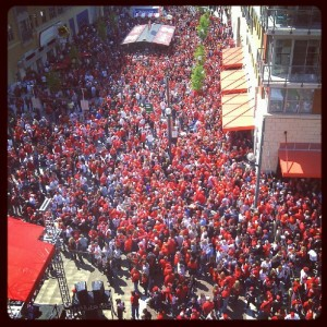 Opening Day 2012 Block Party