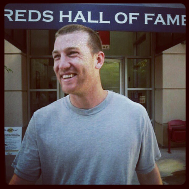Todd visits the Reds Hall of Fame and Museum