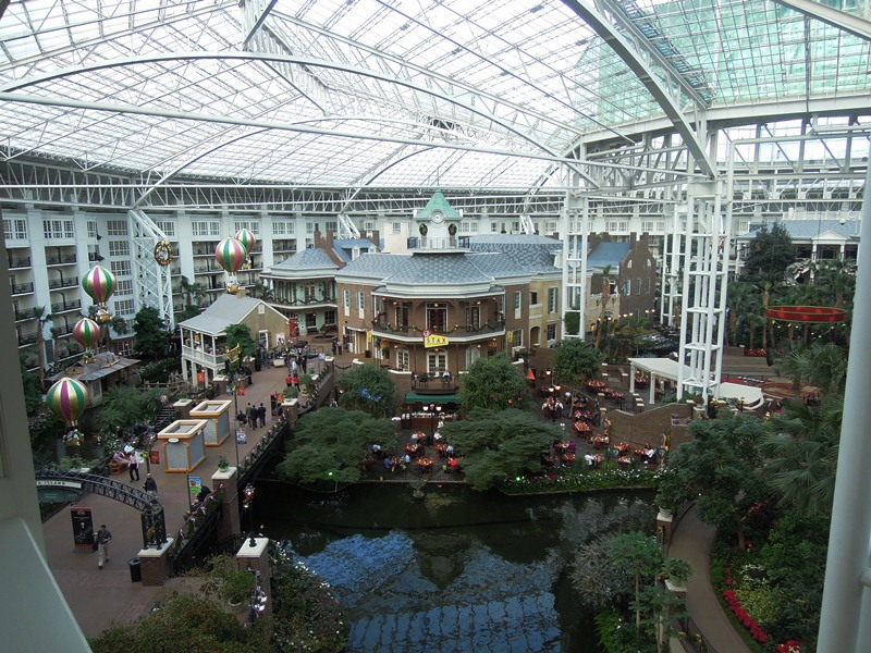 Just a sample of the incredibly large Opryland Hotel in Nashville, home of the 2012 Winter Meetings