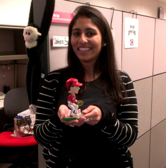Modeled by Reds staffer Nisha Jaga