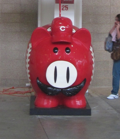 Look for the Piggy Bank at Redsfest
