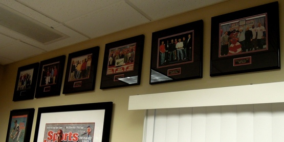 Every year we get a Caravan group photo taken.  I have all six of my years' framed and hanging in BOR HQ