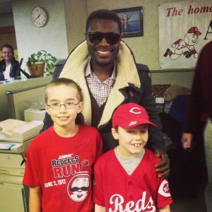 BP with young fans