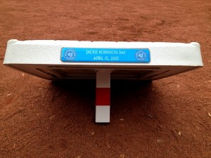 One of the bases that will be used in tonight's game