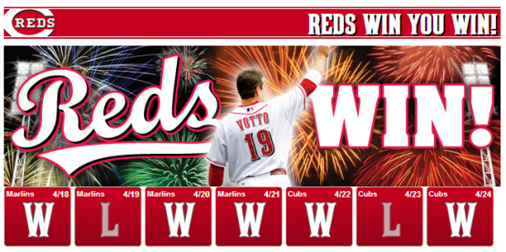 Reds Win You Win