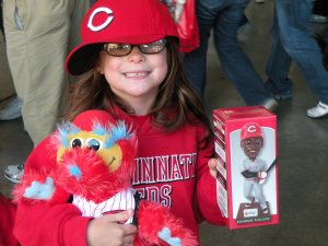 Gapper and a BP Bobblehead = awesomeness.
