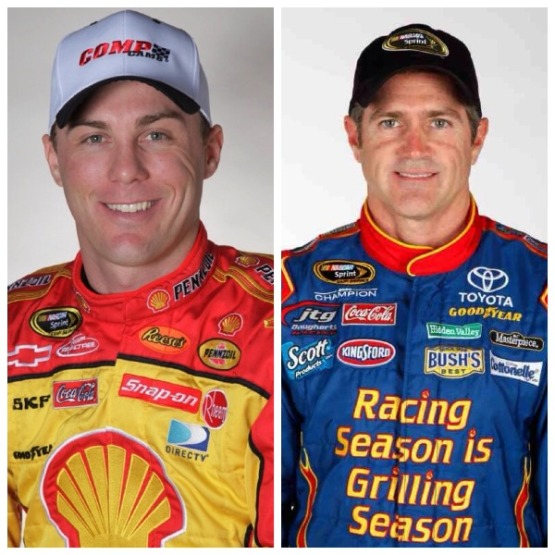 Harvick and Labonte