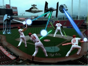 Great American Ball Park was recently the target of an Imperial takeover.