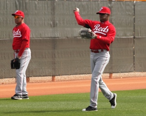 Mario Soto and Eric Davis