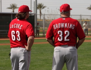 Sam LeCure and Tom Browning