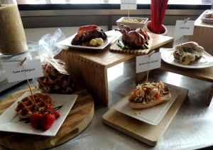 Some of the delicious food served at GABP in 2014