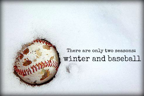 winter and baseball