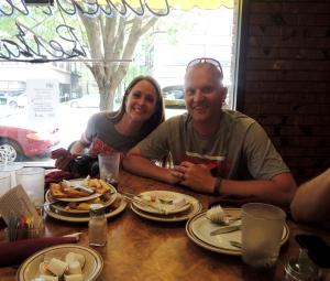 Kenady's parents, Ben and Michelle Murphy