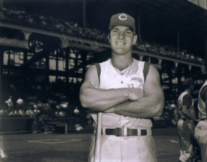 Jay Bruce showing off his massive arms in 1953