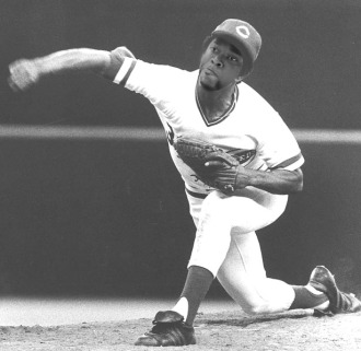 Johnny Cueto at Riverfront Stadium in 1983