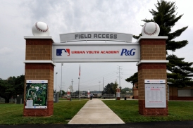 The P&G Cincinnati MLB Urban Youth Academy officially opened on Friday, August 22.