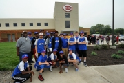 Many youth teams from around Reds Country attended the grand opening of the Cincinnati Academy including Indy RBI.