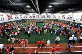 The 33,000-square-foot Joey Votto Training Facility will be the home to all of the Reds Community Fund's outreach programs, training clinics and summer camps.