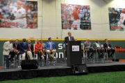 MLB Commissioner Bud Selig addressed the crowd at the grand opening of the P&G Cincinnati MLB Urban Youth Academy.