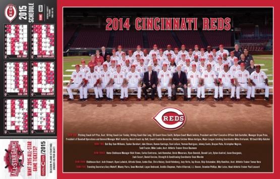 2014 Reds Team Photo
