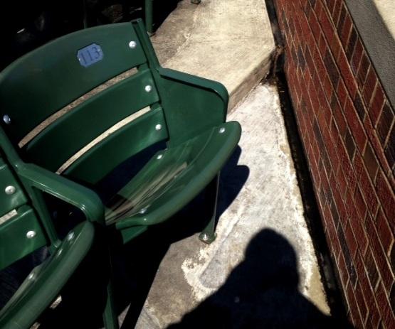 The infamous Steve Bartman seat