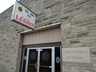 The American Legion in Salem, IN visited by the South Tour of the Reds Caravan