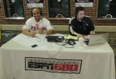 Brayan does some radio with ESPN 680 in Louisville