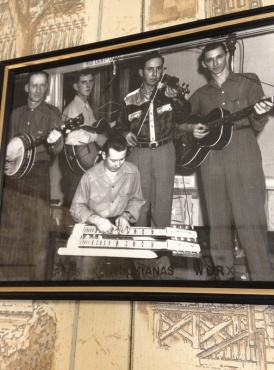This very cool photo is on the wall at the WORX radio station in Madison, IN