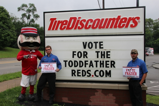 VoteReds Tire Discounters