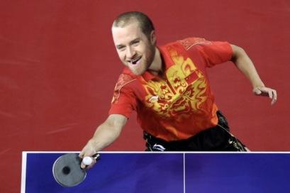 Tucker Barnhart, Table Tennis