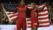 Brandon Phillips & Raisel Iglesias; Track & Field