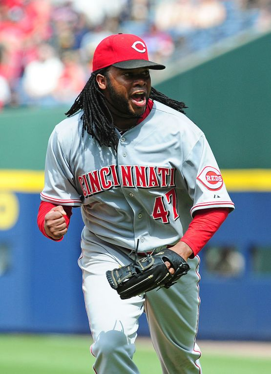 Johnny Cueto (Photo by Scott Cunningham/Getty Images)