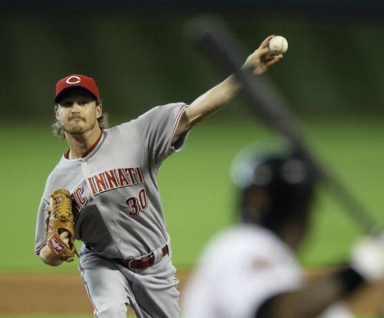 Travis Wood (Photo by Bob Levey/Getty Images)